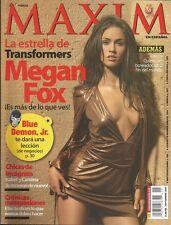 Mexican Magazine Maxim Megan Fox 2007 Sexy Girl Mexico Spanish Hot