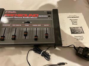 Maplin Pro Sound Dynamic Stereo Audio Mixer Retro