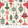 MODA Fabric ~ KRINGLE & CLAUS ~ by BasicGrey (30591 11) Snow - by the 1/2 yard