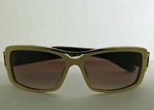 Paul Frank Sunglasses Cissy Strut Off White Brown 100% UV UVB Hand Crafted