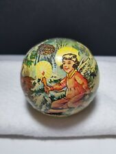 Vtg 1950's West German Kurt Adler Paper Mache Christmas Candy Container Ornament