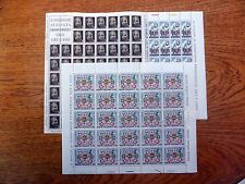 ITALY 1965/6 (3) Complete Sheets FP9529