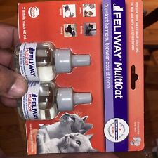 Feliway Multicat 2 Refills For Cats 2 Months For Ceva Diffuser Ex 2022+ #3044