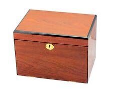 Classic wooden jewellery box - 4 layers