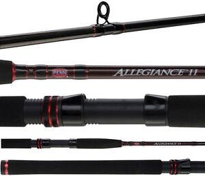 Penn Allegiance II Surf Beach Series 2 Piece Spin Fishing Rod 12' 12-20kg