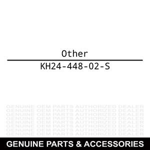 Kohler KH24-448-02-S Tab: Locking