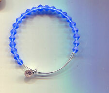 blue bracelet 2 Alex & Ani silver