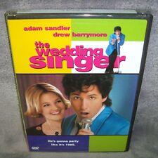The Wedding Singer (DVD, 1998) Brand New!•Sealed•USA•Adam Sandler•Drew Barrymore