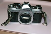 Vintage CANON AT-1 35mm SLR Film Camera - Body Only - As/Is  #B