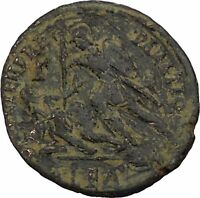 CONSTANTIUS II Constantine the Great son Ancient Roman Coin Battle Horse i45959