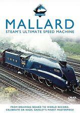 MALLARD Steam's Ultimate Speed Machine STEAM LOCOMOTIVE DVD