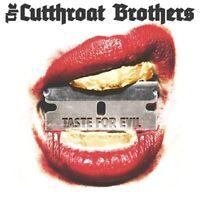 THE CUTTHROAT BROTHERS - TASTE FOR EVIL (LP+MP3)    VINYL LP + MP3 NEU