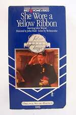 John Wayne She Wore a Yellow Ribbon VHS Classic RKO Home Video Rare Edition