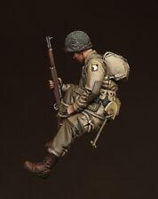 1/35 Escala Kit de modelo de resina Segunda Guerra Mundial U.S. Army en el aire en Sherman. #5