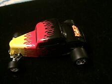 1934 FORD COUPE HOT ROD RARE 1:64 COLLECTIBLE Limited With Flames &RR Tires
