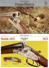 Merkel 1988 Suhler Jagdwaffen- Doppelflinten Katalog