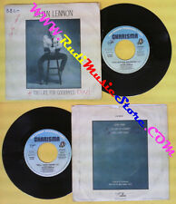 LP 45 7''JULIAN LENNON Too late for goodbyes Well i don't know 1984 no cd mc*dvd