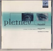 Haydn - Pletnev: Piano Sonatas; Variations in F Minor (Virgin) Like New
