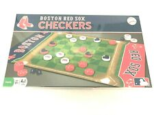 Master Pieces Boston Red Sox Checkers MLB Baseball Board Game Brand New Sealed