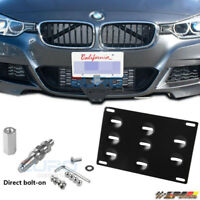 Fit for 1 M3 E39/82/90 X5/6 Tow Hook License Plate Holder Mounting Bracket Front