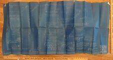 New York Central R.R.  Co. Blueprint For Regulator, Locker, Combo Mail Car 1925
