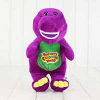 Barney The Dinosaur Sing I LOVE YOU Song Purple Plush Soft Toy Doll 12''  GIFTS
