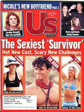 US Magazine October 22-29 2001 Survivor Bruce Willis Demi Moore EX 012216jhe