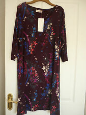 3/4 Sleeve Tunic Floral Everyday Dresses for Women