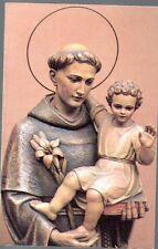 832 S. Antonio di Padova  Santino Holycard