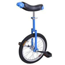 "16"" Adjustable Height Unicycle Wheel Tire Cycling Leakproof Mountain"