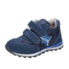 Jungen schuhe ENRICO COVERI 21 EU sneakers blau textil wildleder BR254-21