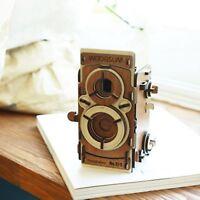 [WOODSUM] Wood Pinhole Film Camera-S /Self Assembly Kit - 35mm Film,DIY,Vintage