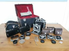 Topcon HORSEMAN 970 CAMERA 4 - LENSES 2 - 6X9 FILM BACKS, CAMS, FILTERS, BAG +++
