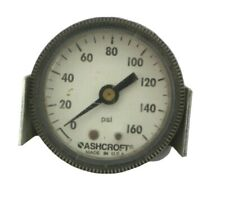 "Ashcroft 0-160PSI Panel Mount 2"" Pressure Gauge 1/8"" NPT"