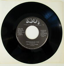 ARMIGIDEON TIME WILLIE WILLIAMS THE CLASH 45 RPM REGGAE JAMAICA PUNK ROCK UK