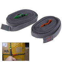 Camping Hiking Rope Durable Quick Release Luggage Strap & Stainless Steel H ES