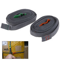 Camping Hiking Rope Durable Quick Release Luggage Strap & Stainless Steel Hoo tx
