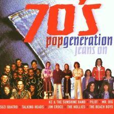 70's Pop Generation-Jeans on | CD | Hollies, Al Stewart, Mr. Big, Suzi Quatro...