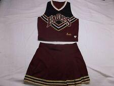 Eagles Cheerleader Uniform Halloween costume. Adult Medium