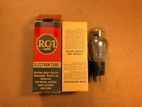NOS NIB 1948 RCA 71A Tube Black Plate Guaranteed!