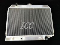 """3 Rows Aluminum Radiator For 1970-1974 Dodge Challenger Charger Coronet 26"""" Core"""