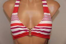 NWT Ralph Lauren Swimsuit Bikini Top Bra Sz 6 Halter CRL coral