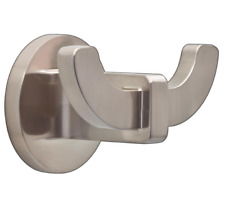Delta Mandolin Double Towel Hook in SpotShield Brushed Nickel Mln35-Dn