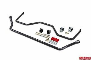 Belltech 00-06 Chevy Tahoe/Suburban/Avalanche/Yukon Front & Rear Sway Bar Set