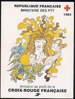 FRANCE CARNET CROIX ROUGE 1983  NEUF xx TTB