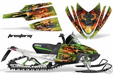 AMR SLED STICKER DECAL WRAP KIT M8 M7 ARCTIC CAT M SERIES CROSSFIRE GRAPHIC FIRE