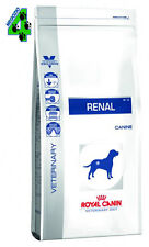 ROYAL CANIN RENAL 14 kg SECCO CROCCHETTE per cane cani  con problemi renali