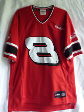 Dale Earnhardt Junior Shirt Jersey Red Mens Roomy Size M