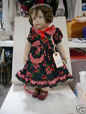 "18"" Karin Heller Doll - German Doll Artist - cloth doll"