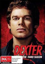 Dexter : Season 3 (DVD, 2013, 4-Disc Set) Brand New and Sealed